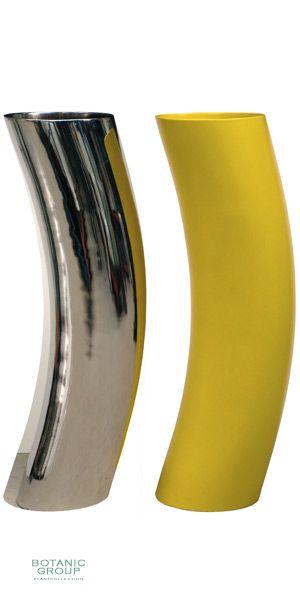 Kunststoff  Pflanzgefäß rund gebogen