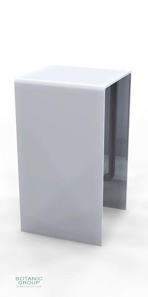 Stainless steel bollards SLC02