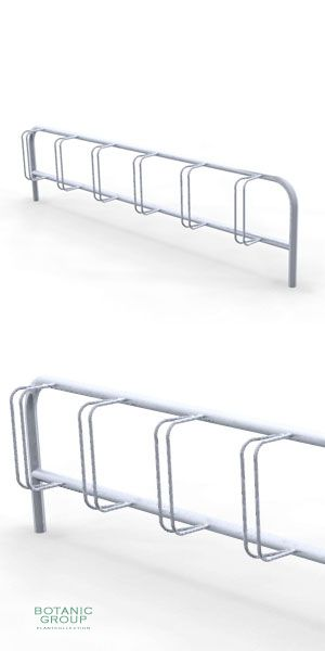 Stainless steel bicycle rack SLC03