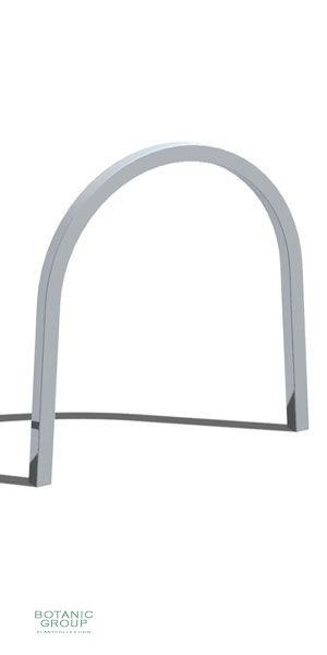 Stainless steel bicycle rack SLC05