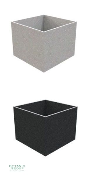 Concrete planter poly CUBE XXL