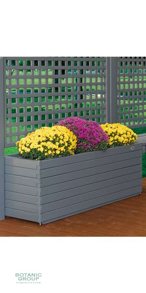 Urban Green 02 vessel, wooden planters