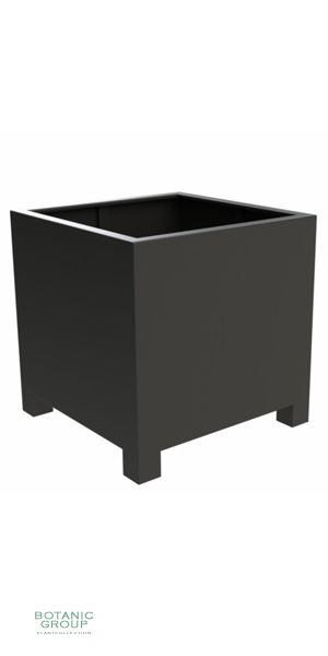 Aluminiumpflanzgefäß Designline BASIC-Cube mit Füßen
