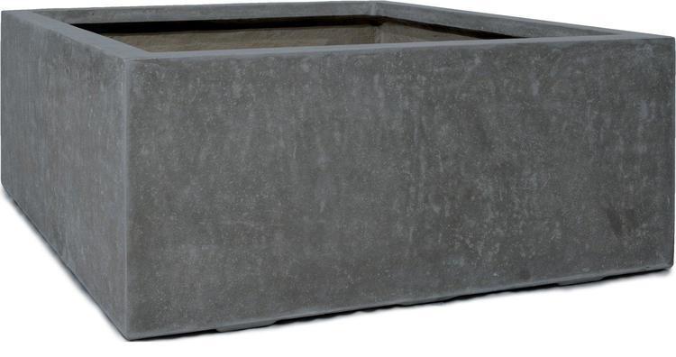 DIVISION PLUS Cube Planter in Anthracite