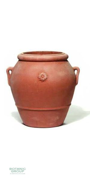 Terracotta Pflanzgefäß