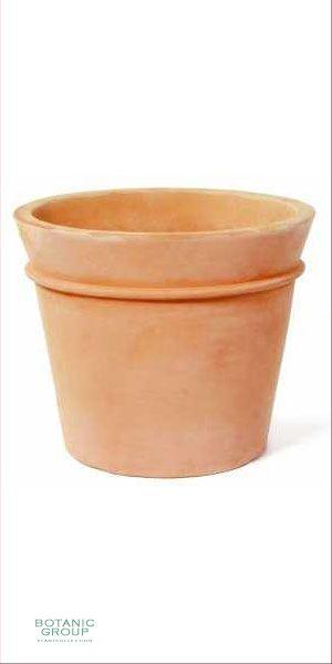 Terracotta Planter - Vaso Bordo fino