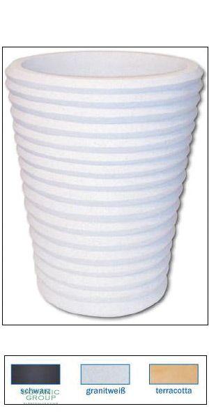 Kunststoff  Pflanzgefäß LIDO