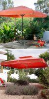 Parasol Rivera Premium, umbrellas square