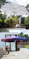 Parasol Rivera Premium, umbrellas round