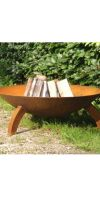 Fire Bowl with feet BC Design - steel fire bowl