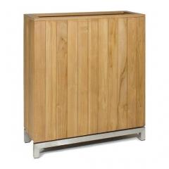 KAYU room divider made of teak